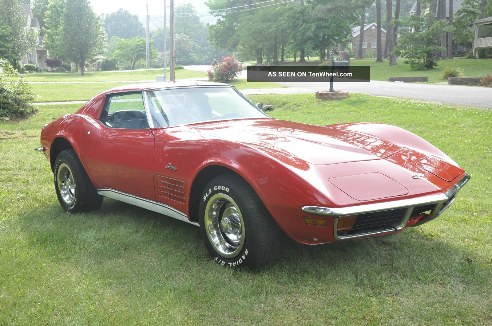 1972 Chevrolet Corvette Stingray 4 Speed A C