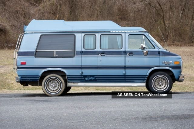 1989 Chevy Conversion Van With Ricon Wheelchair Lift