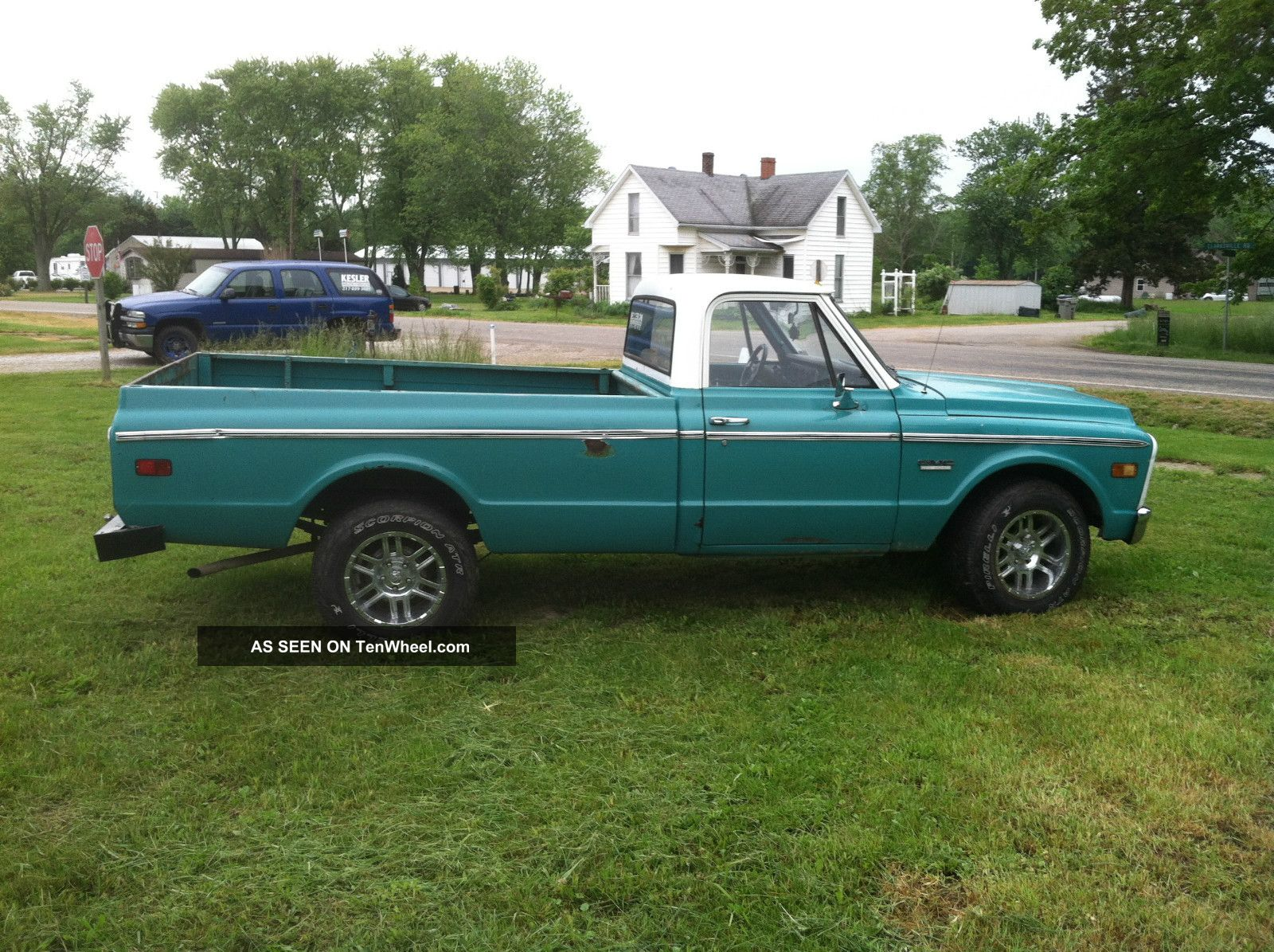 1972 Gmc / Chevy 1 / 2 Ton Pickup Truck Sierra 1500 photo