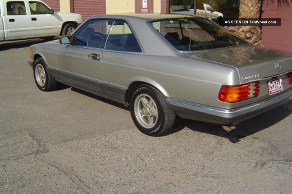1985 Mercedes Benz 500 Sec - I Owner, Euro Import, Time Capsule