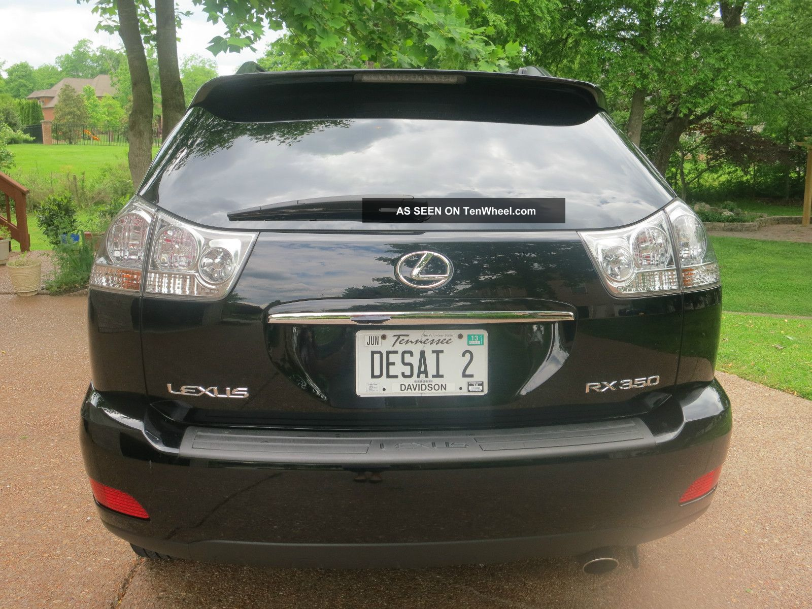 2009 Lexus Rx350 All Wheel Drive Black Black Fully