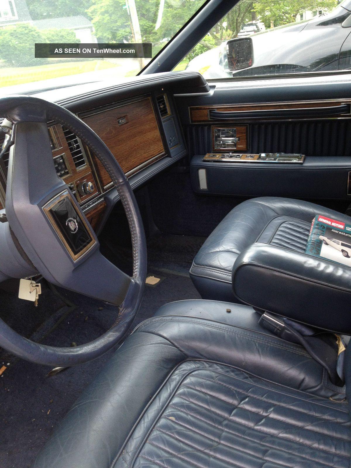 1983 Cadillac Seville Interior 1983 Cadillac Seville Base