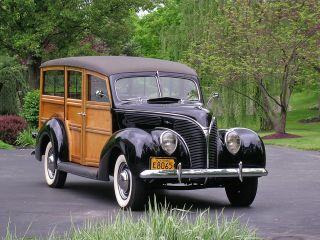 1938 Ford Deluxe Station Wagon Woody, ,  2 Condition,  Flathead V8 photo