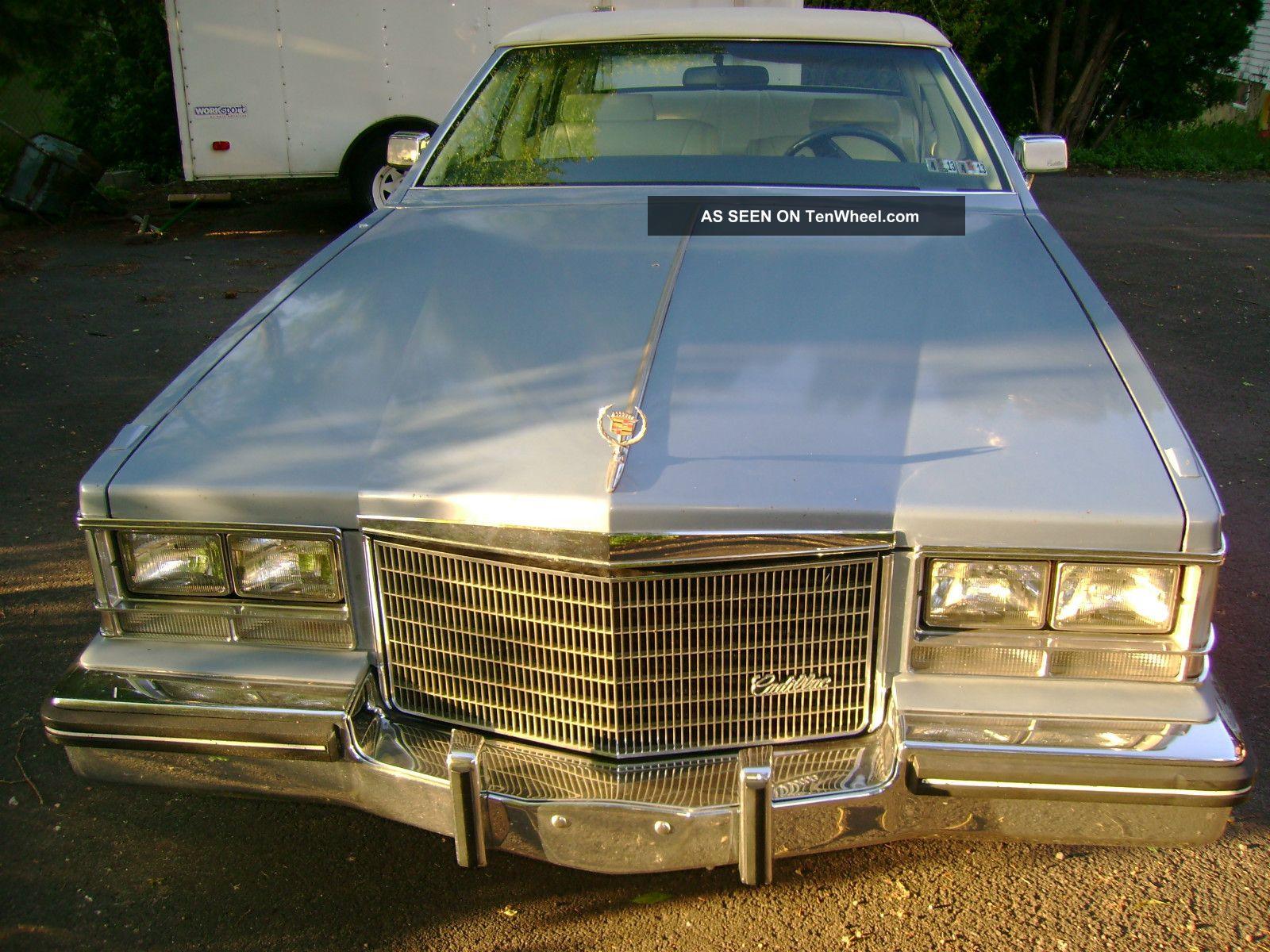1983 Cadillac Seville Base Sedan 4