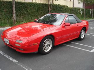 1991 Mazda Rx7. . .  Convertible. .  5 Speed. .  Rotary Motor. . .  California Car. . photo