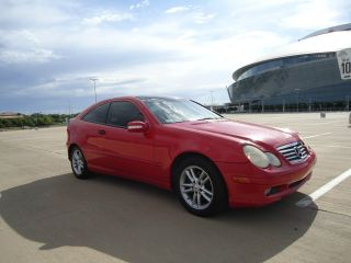 2002 Mercedes C230 Coupe,  Compressor,  Look photo