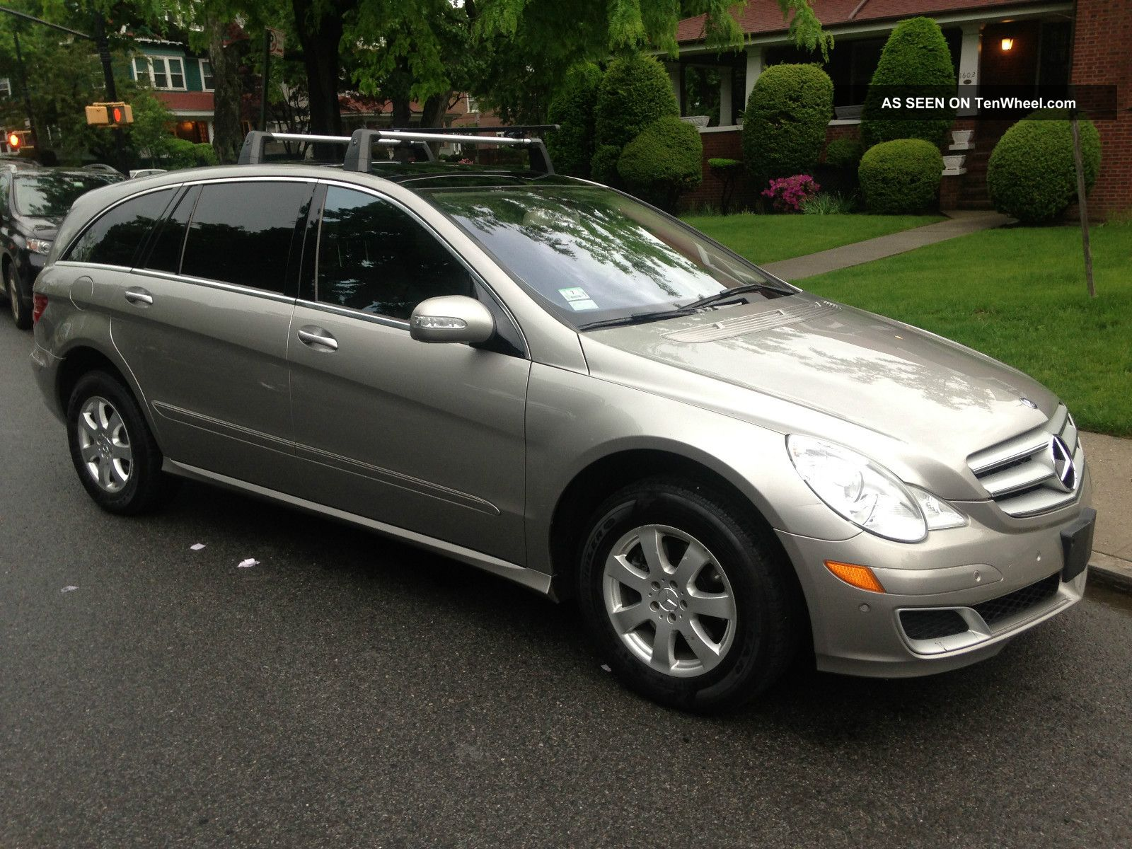 2007 mercedes benz r350 4matic 3 5l 3rd row navi