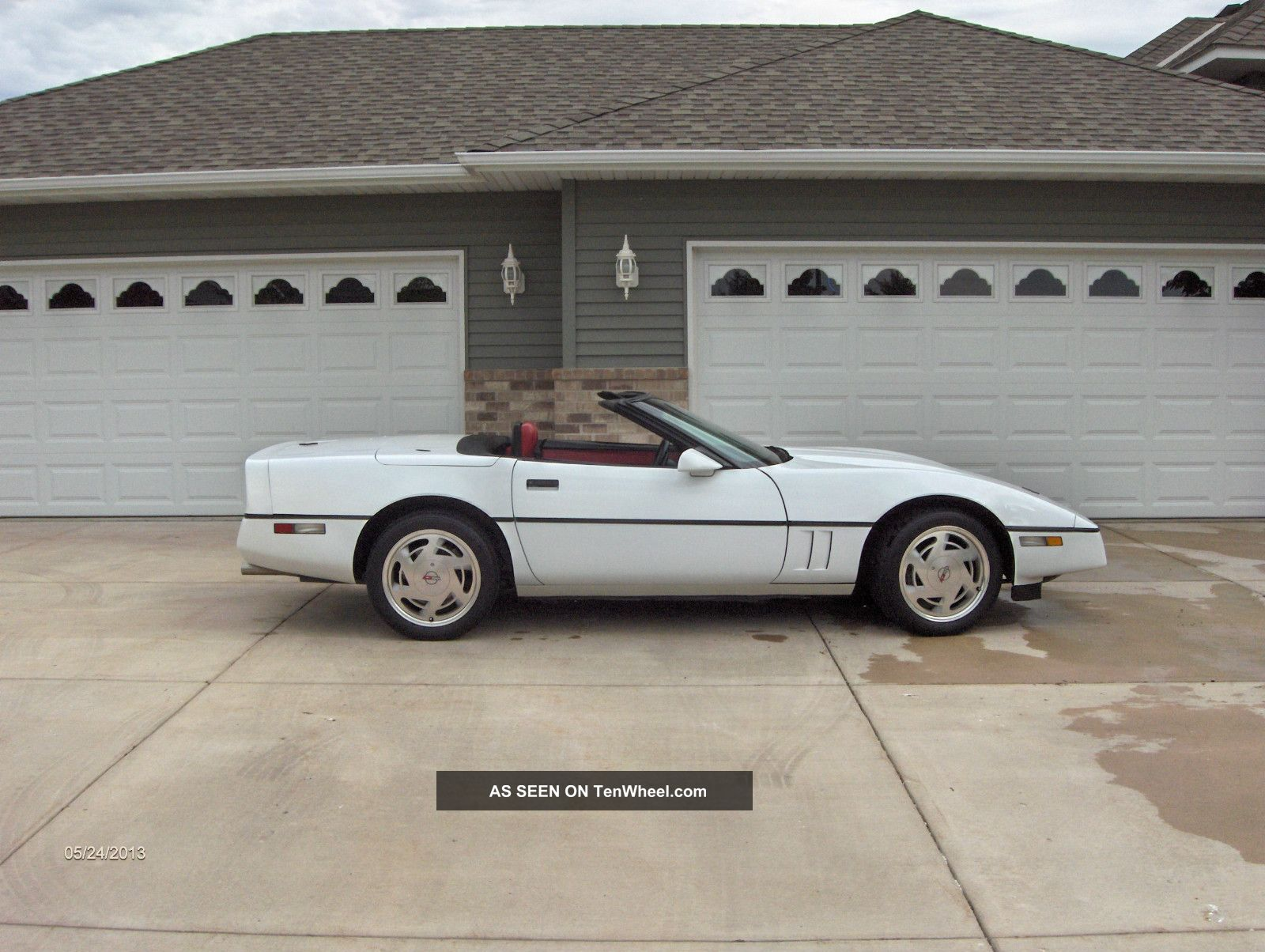 1989 Chevrolet Corvette Convertible 2 - Door 5.  7l Corvette photo