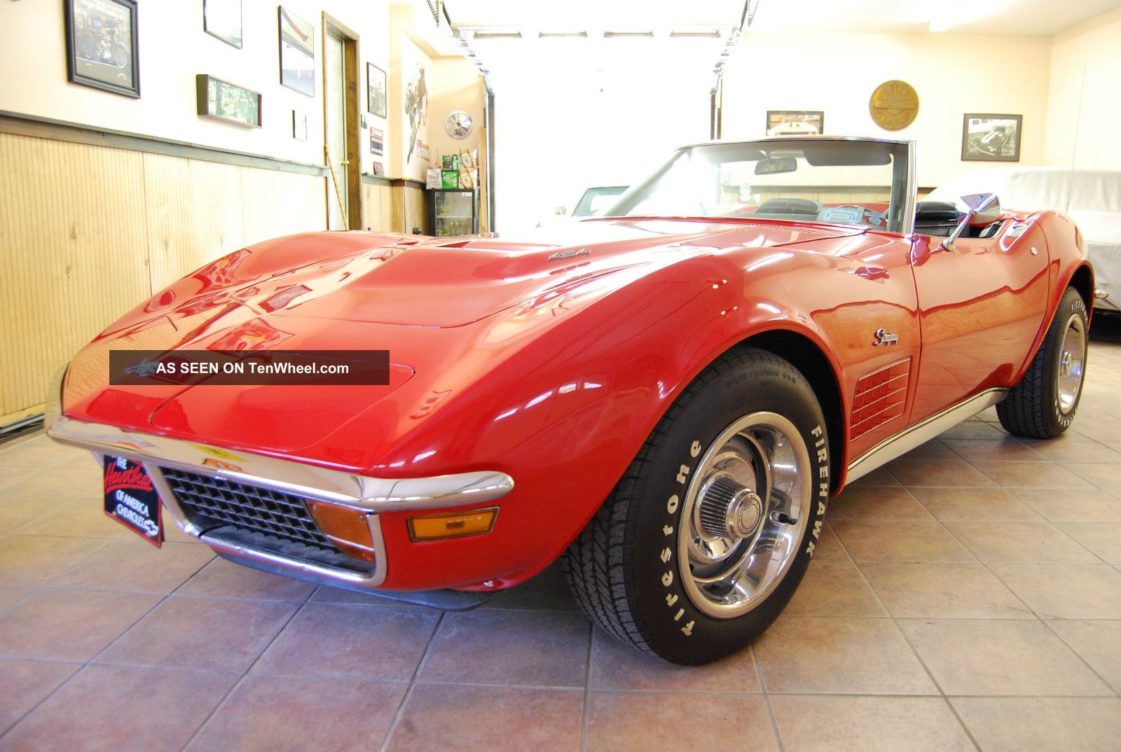 1972 Chevrolet Corvette Convertible 454 photo
