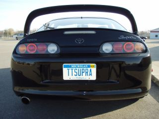 1993 Toyota Supra Twin Turbo - Premier Edition - - Targa Top - Auto - 100%stock photo