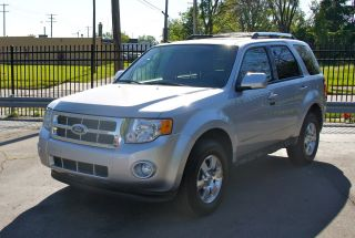 2012 Ford Escape Limited 2.  5l. .  / Camera / Sensors / / 6 - Cd photo