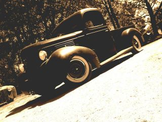 1939 Plymouth Rat Rod Truck photo
