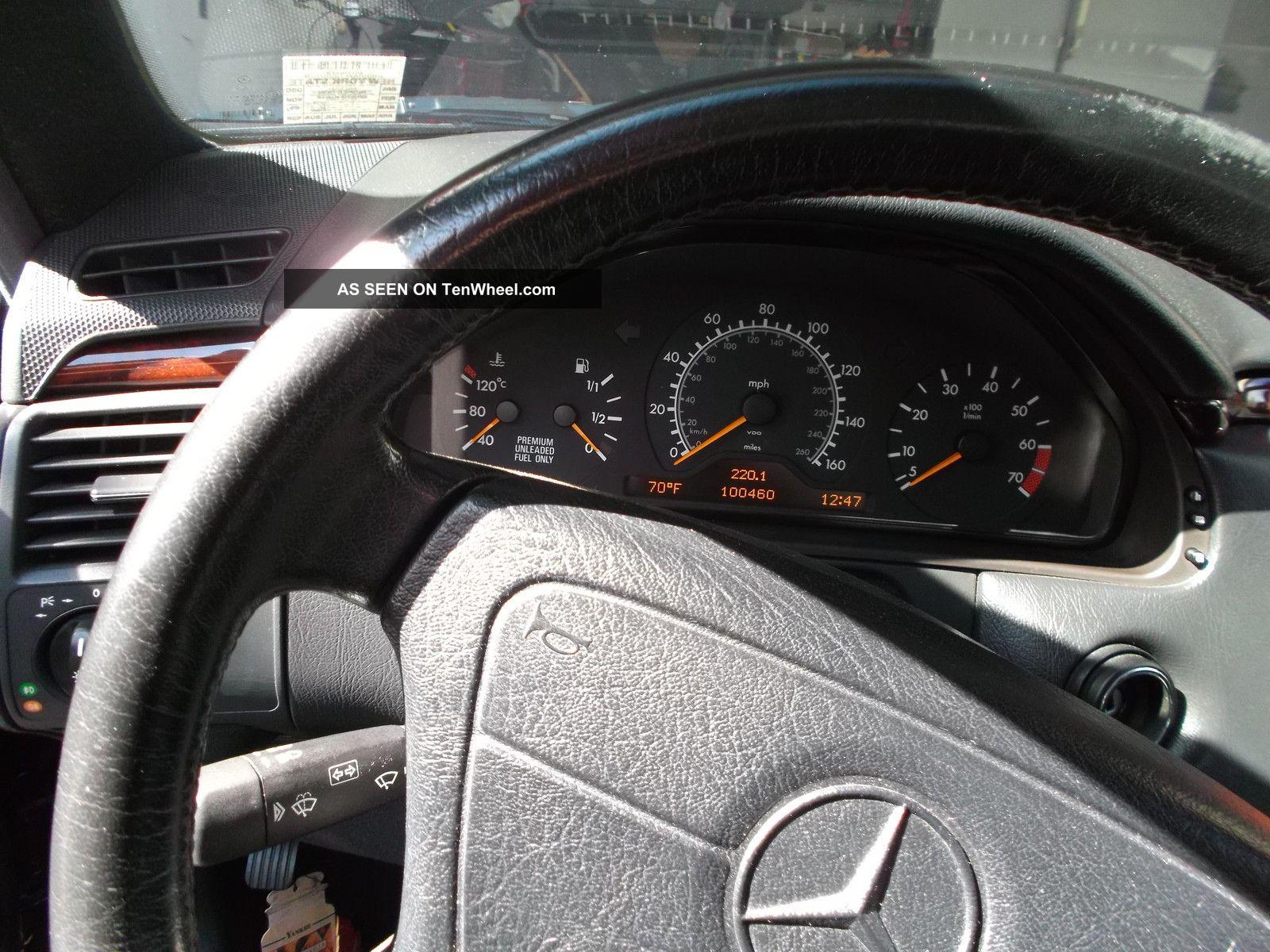 1997 Mercedes - Benz E420 Base Sedan 4