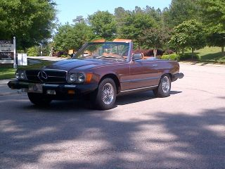 1977 Mercedes 450 Sl photo