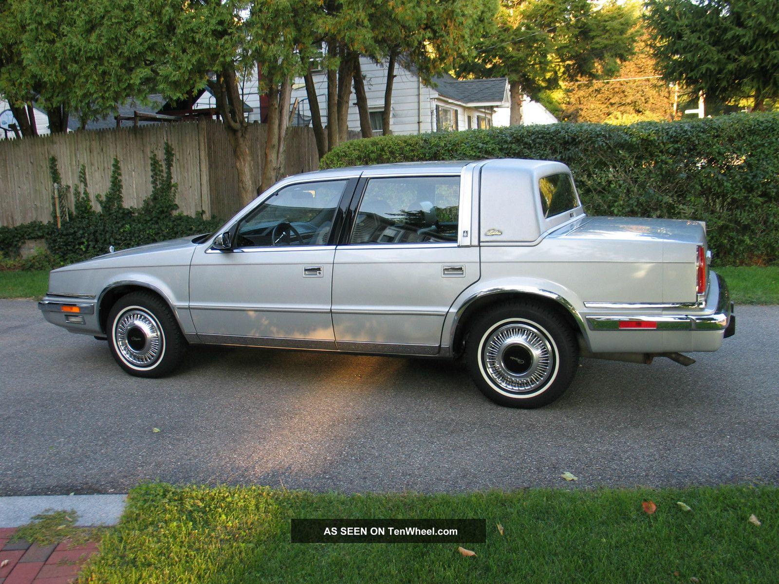 1989 Chrysler Yorker Landau Sedan 4 Door 3 0l Mark Cross Edition