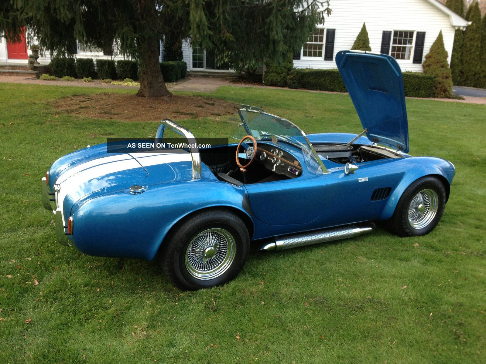 1966 shelby 427 cobra factory built. Black Bedroom Furniture Sets. Home Design Ideas