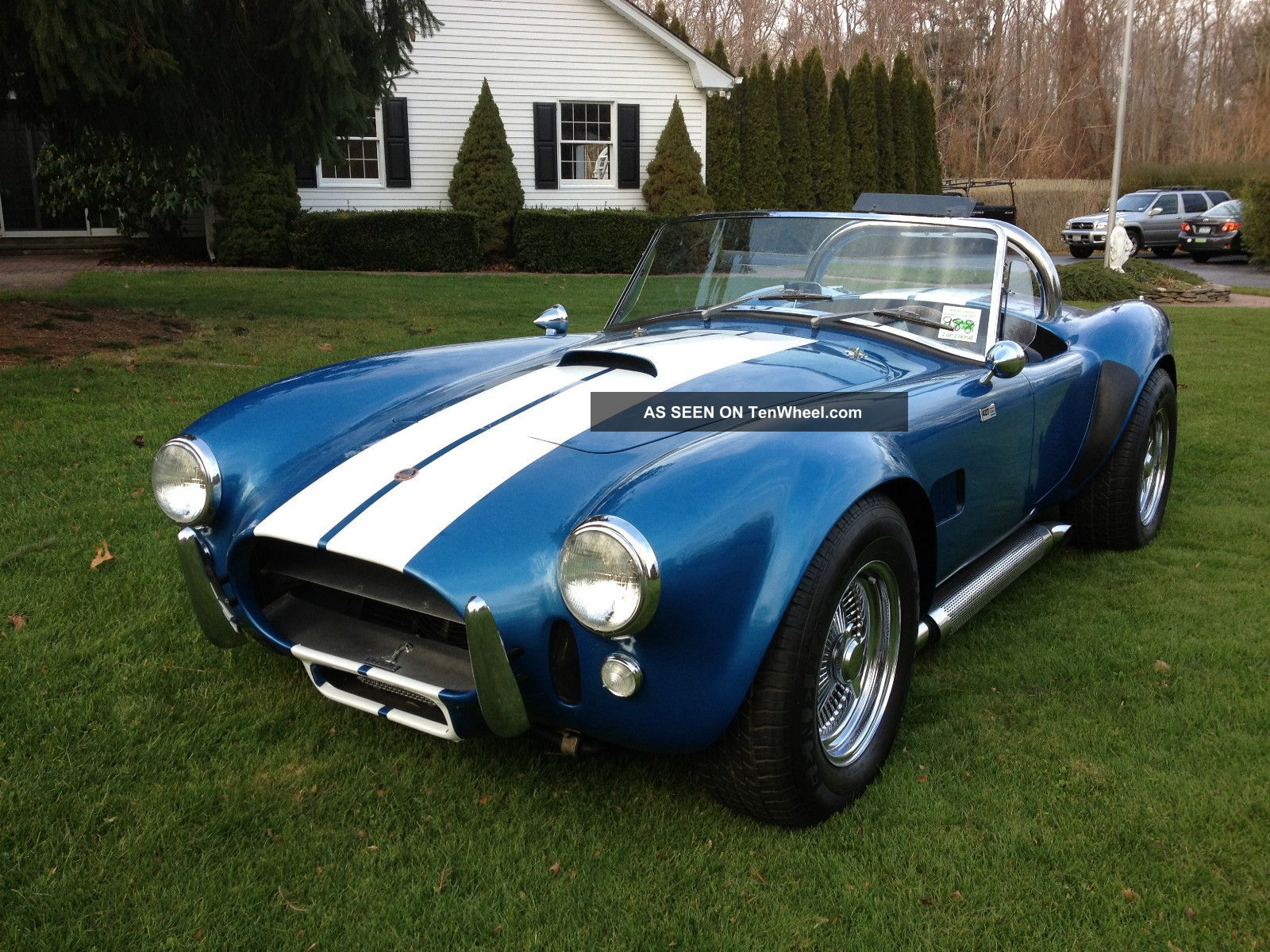 1966 Shelby 427 Cobra Factory Built. Shelby photo