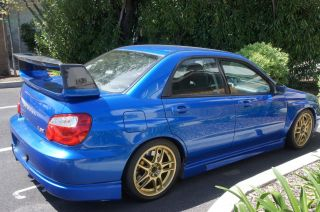 2004 Subaru Wrx Sti photo