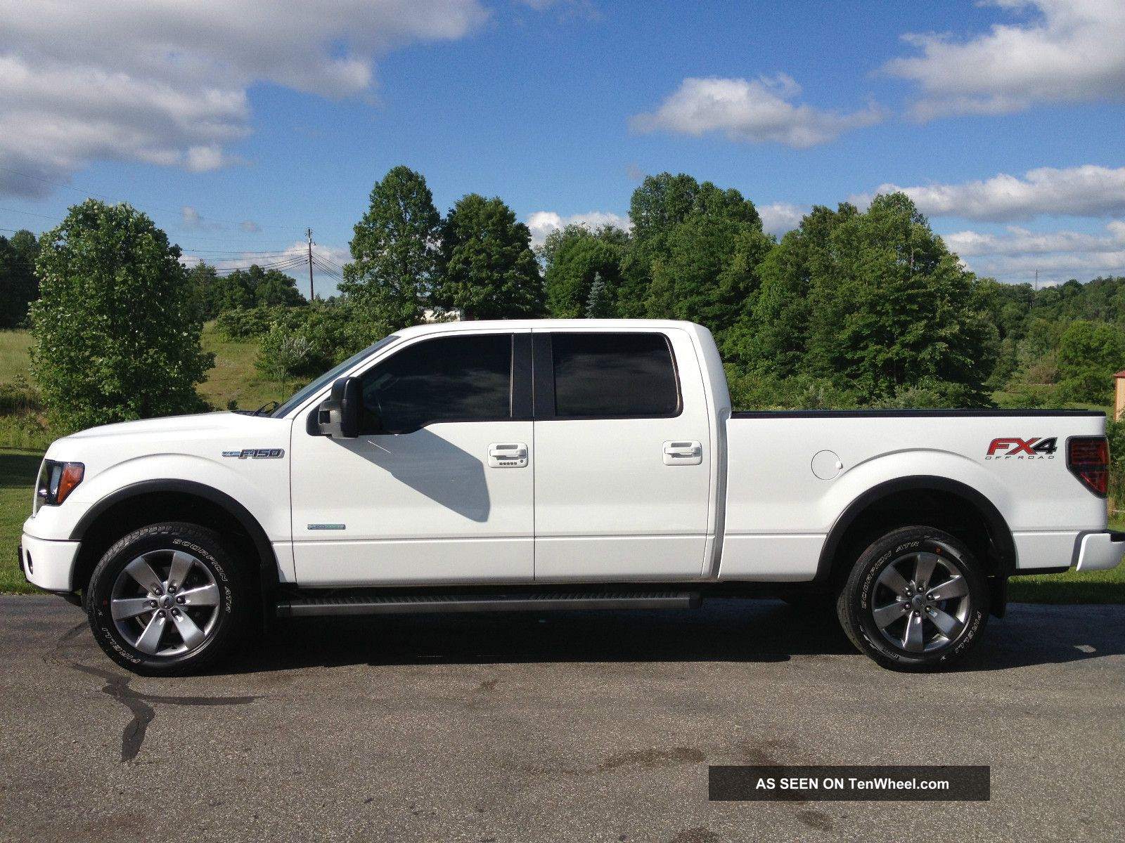 2012 ford f 150 fx4 ecoboost white crew cab 20 inch wheels. Black Bedroom Furniture Sets. Home Design Ideas