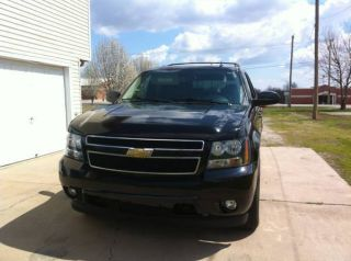 2009 Chevrolet Tahoe 1lt 4x4 3rd Row Factory 20s Black photo