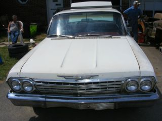 1962 Chevrolet Bel Air 4 Door Hard Air Conditioned Factory Ac Power Steering photo