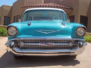1957 Chevrolet 2dr Wagon Nomad 1955 Rare 1956 Handyman Frame Up Restoration photo