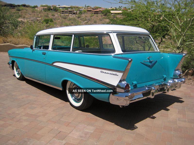 1957 Chevrolet 2dr Wagon Nomad 1955 Rare 1956 Handyman