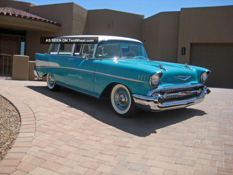 1957 Chevrolet 2dr Wagon Nomad 1955 Rare 1956 Handyman Frame