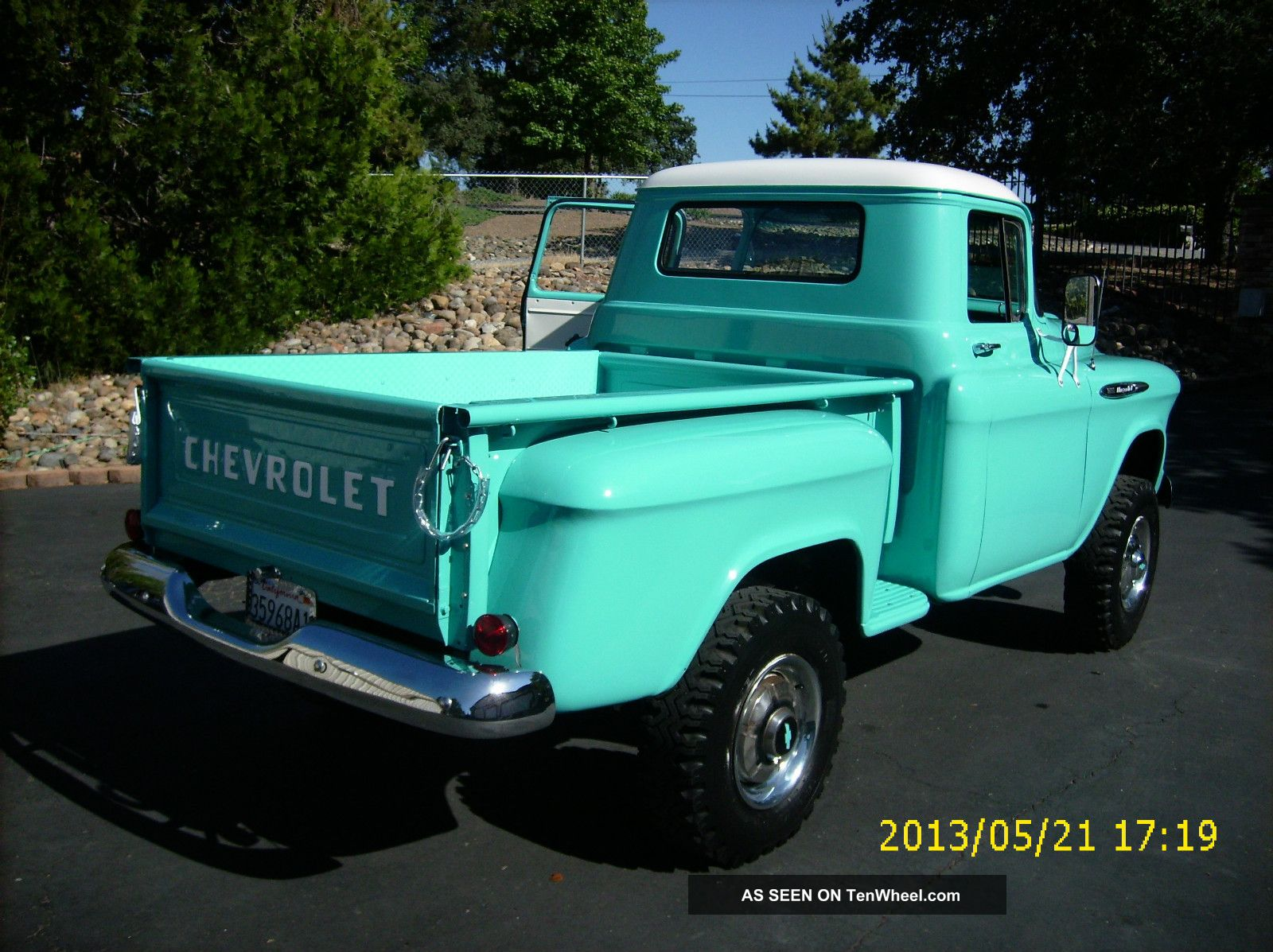 1950 1951 1952 1953 1954 1955 1956 1957 1959 Chevy Truck 4x4 For Sale Napco Shortbed