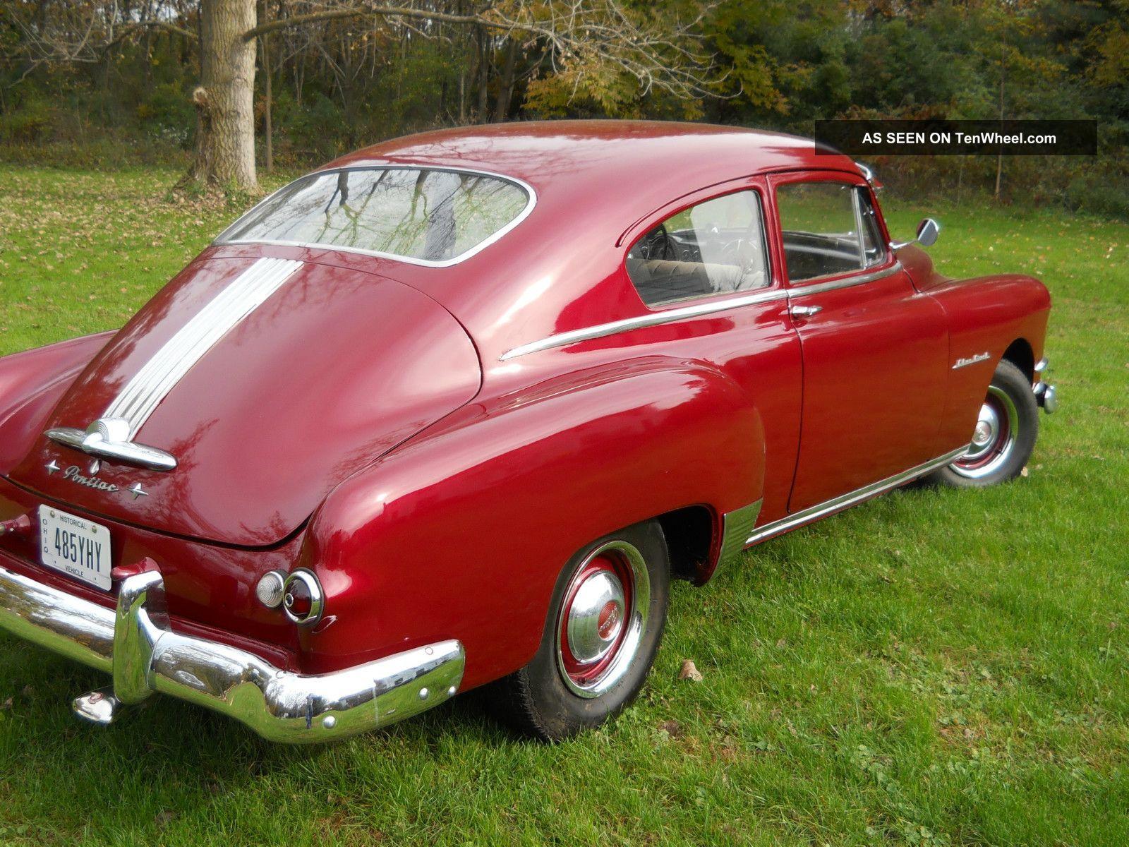 1950 pontiac silver streak classic 2 door fastback for 1950 pontiac 2 door