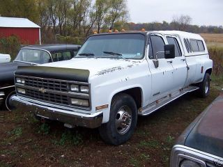 1990 Chevrolet C - 3500 1 Ton Crew Cab Dually 2 Wheel Drive photo