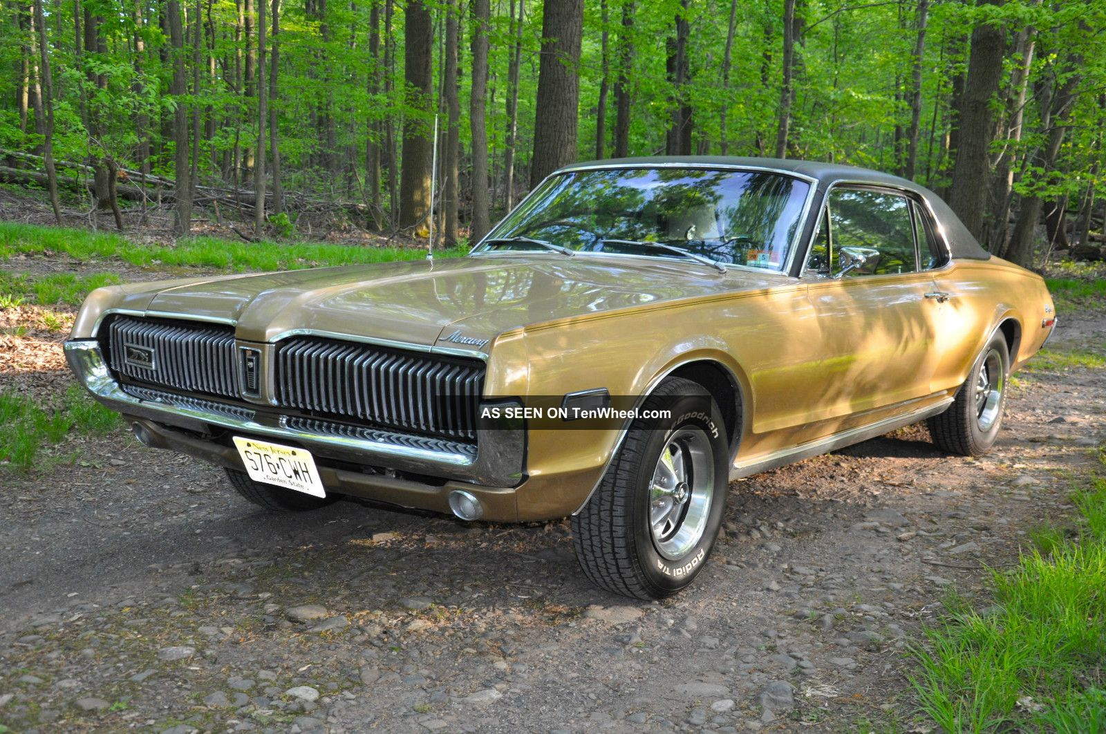 1968 Mercury Cougar Xr 7