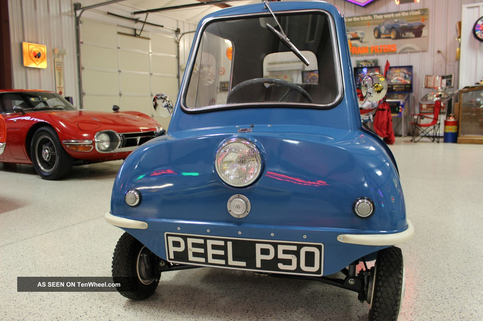 1963 Peel P50 Replica And Vintage Pav Trailer Other Makes photo