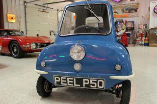 1963 Peel P50 Replica And Vintage Pav Trailer photo