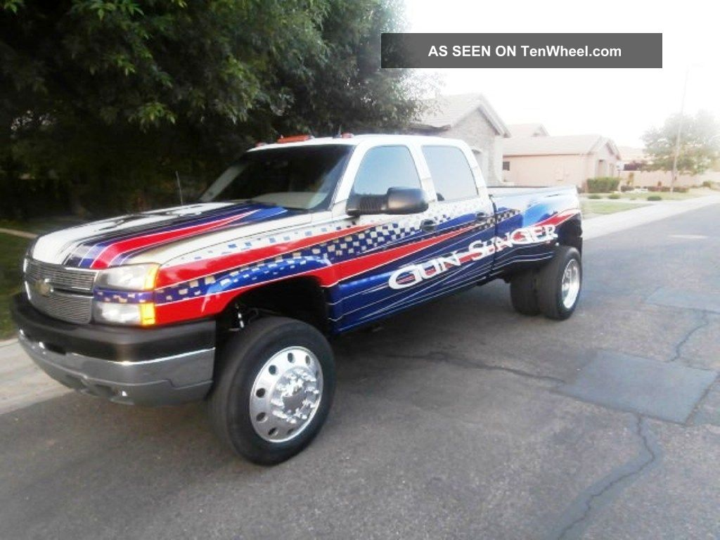 2005 chevy silverado 3500 diesel duramax dully heavy duty. Black Bedroom Furniture Sets. Home Design Ideas