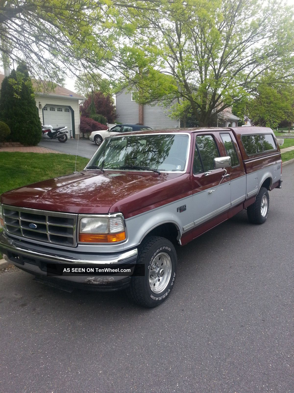 1996 Ford F - 150 Xlt Extended Cab Pickup 2 - Door 5.  0l F-150 photo