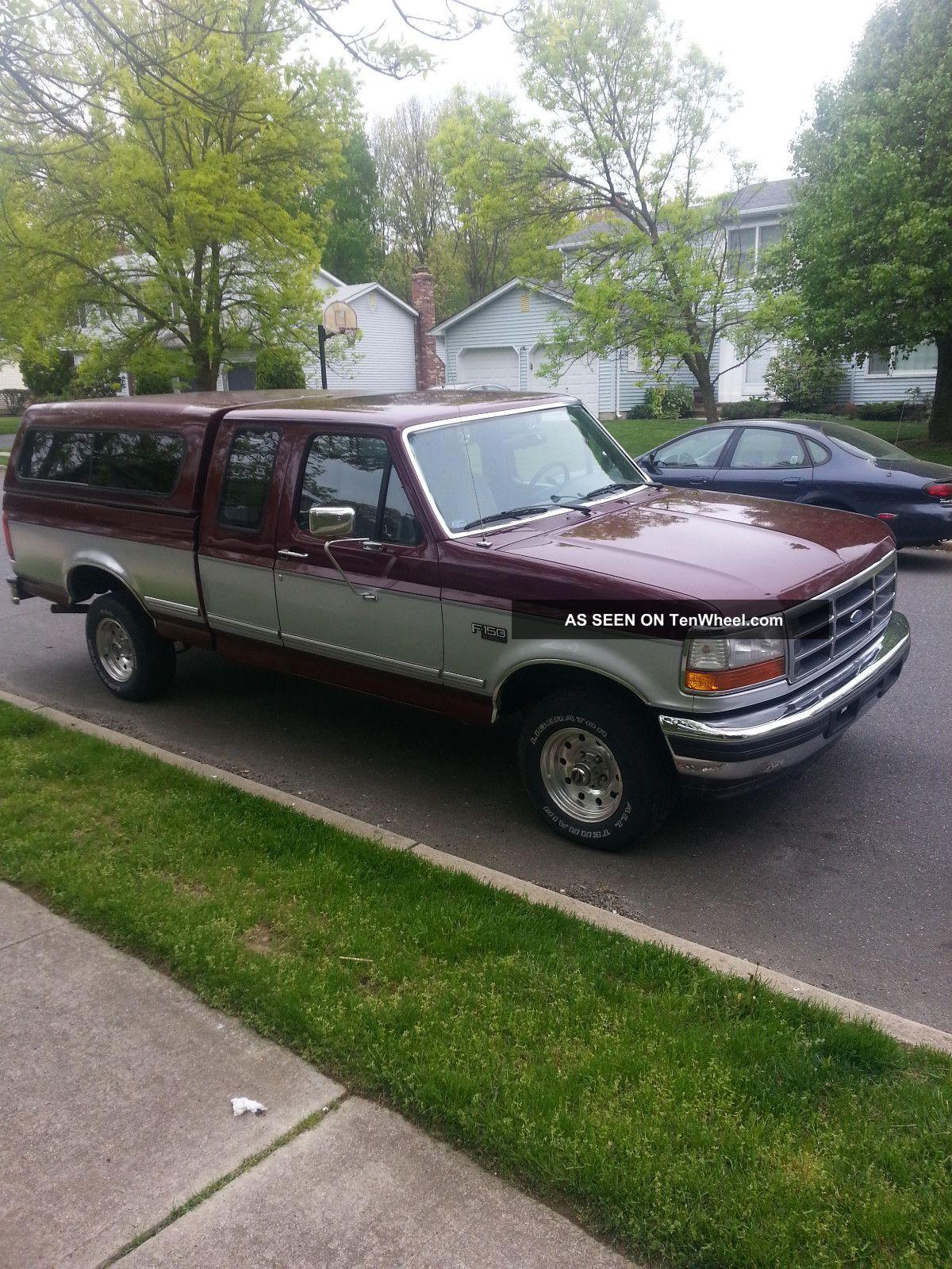 1996 ford f 150 xlt extended cab pickup 2 door 5 0l. Black Bedroom Furniture Sets. Home Design Ideas