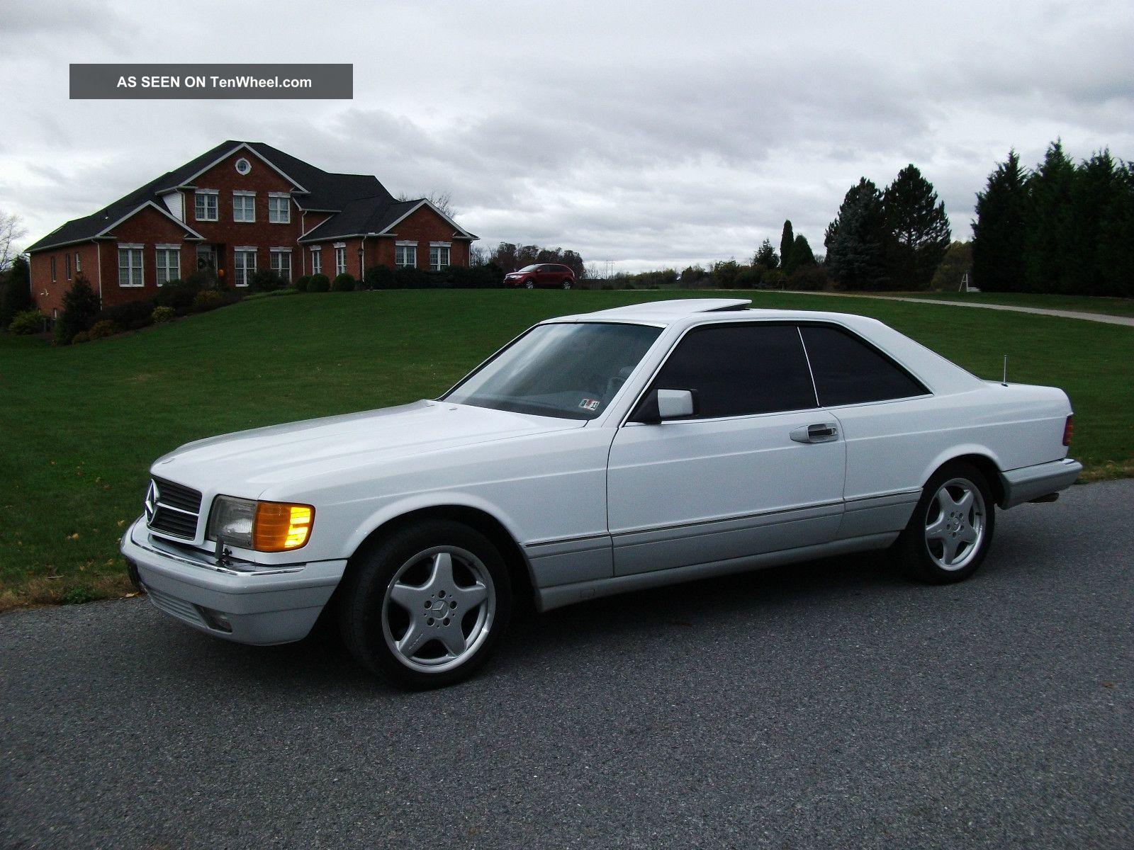 1991 mercedes benz 560 sec classic coupe 2 door 5 6l for Mercedes benz 2 doors