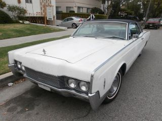1966 Lincoln Continental 2 Door Coupe,  Hardtop V8 462cu,  Automatic All. photo