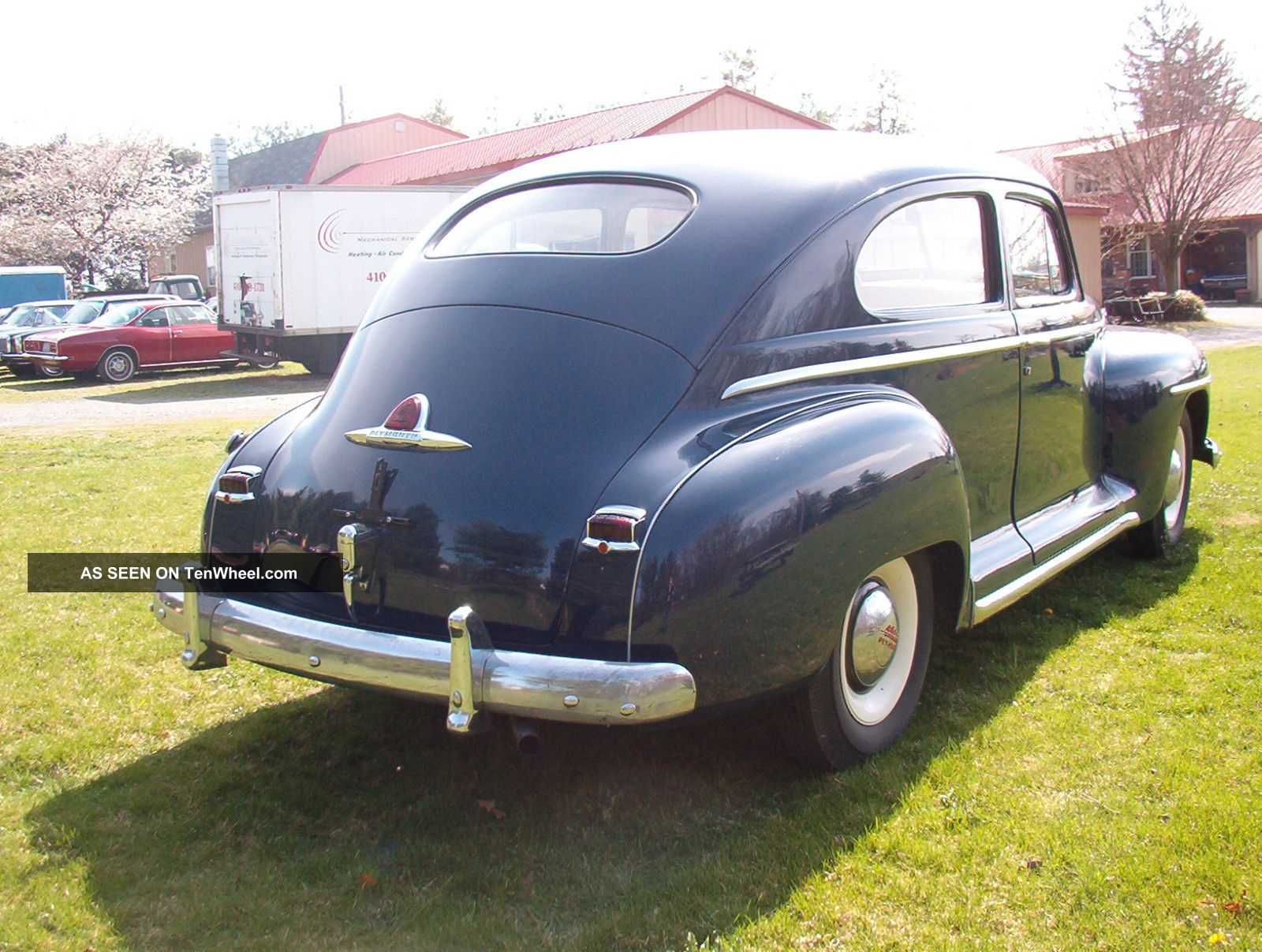 1947 Plymouth 2 Door 1941 Deluxe Business Coupe