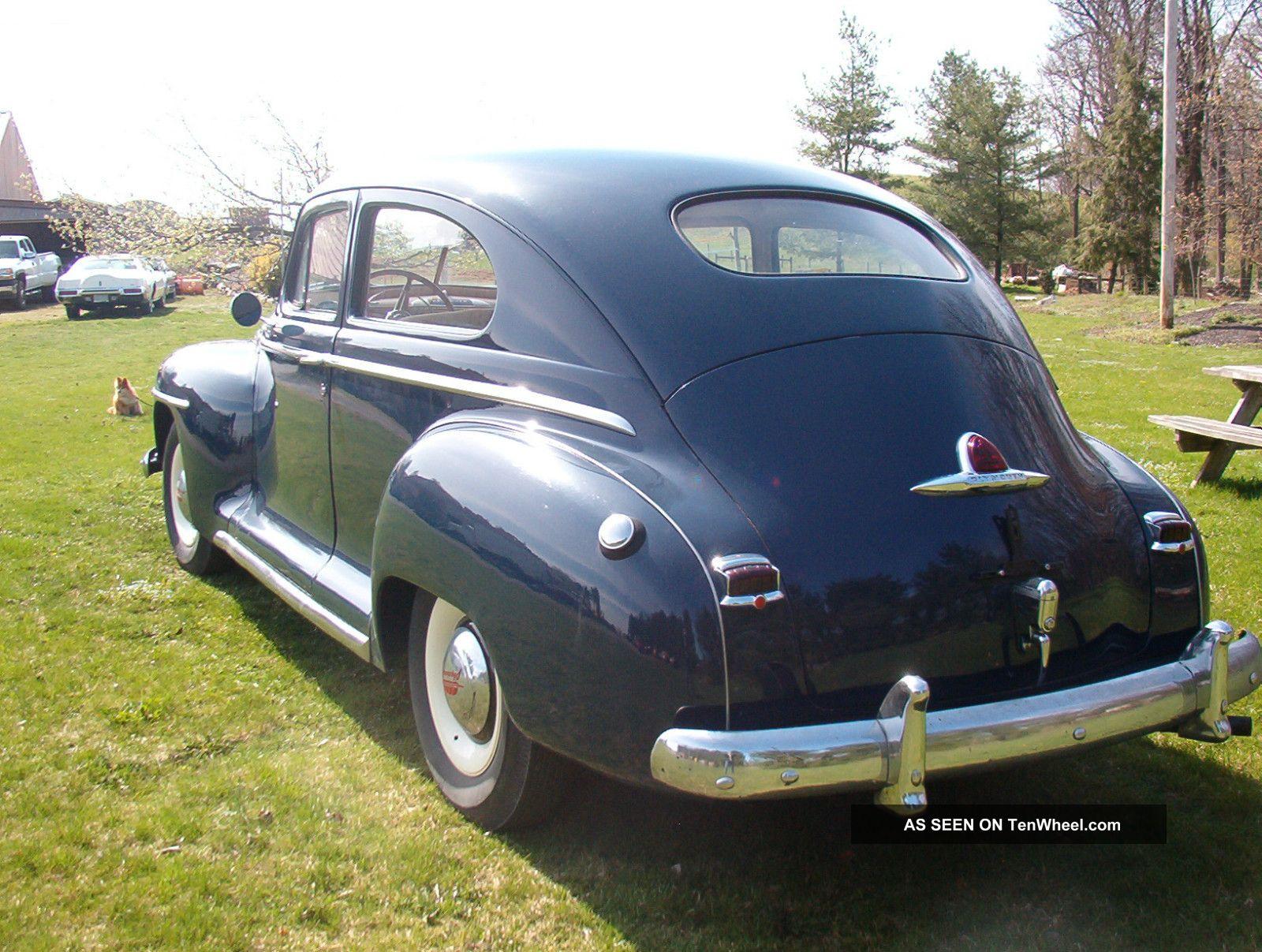 1947 plymouth 2 door for 1947 dodge 2 door sedan