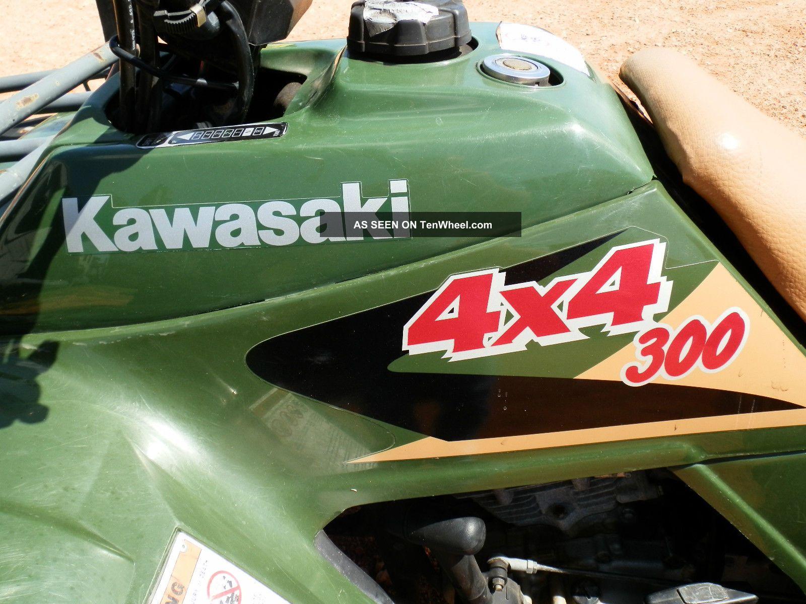 kawasaki bayou 300 4x4 owners manual