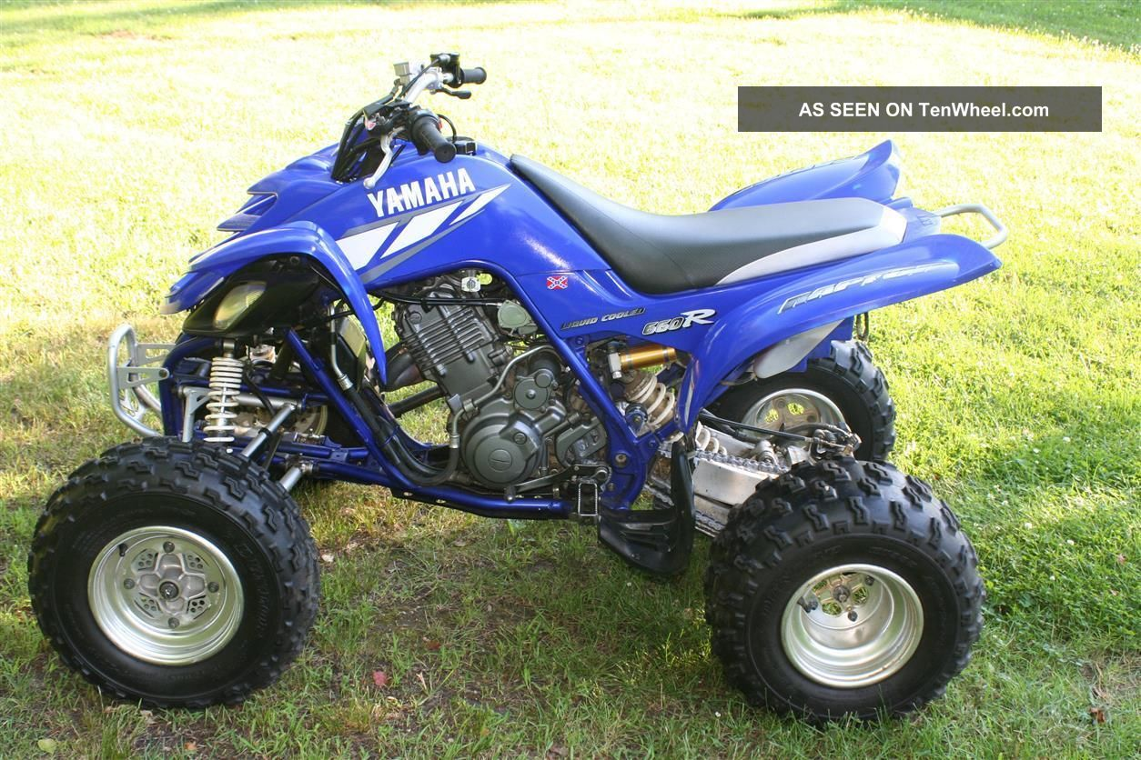 2001 Yahmaha Raptor Yamaha photo