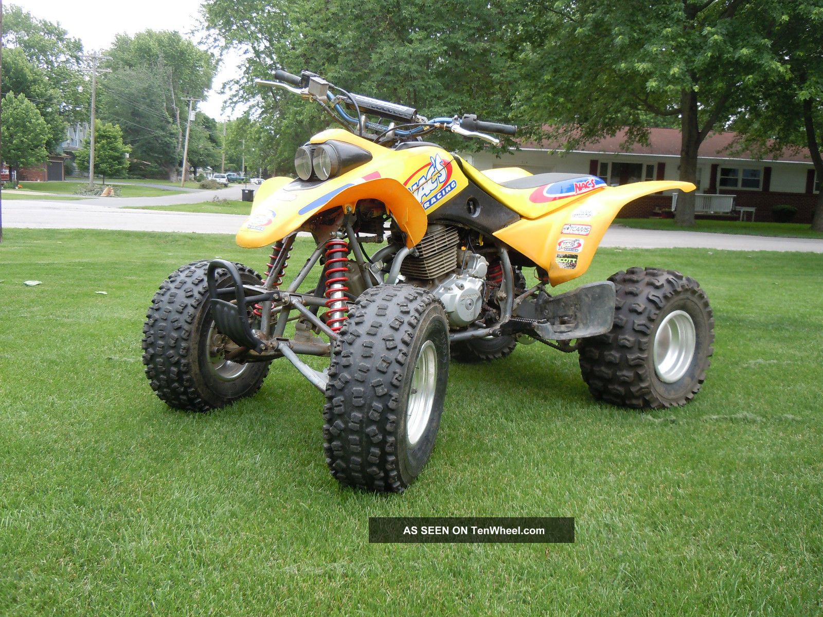 2001 Honda Trx 400 Ex Honda photo