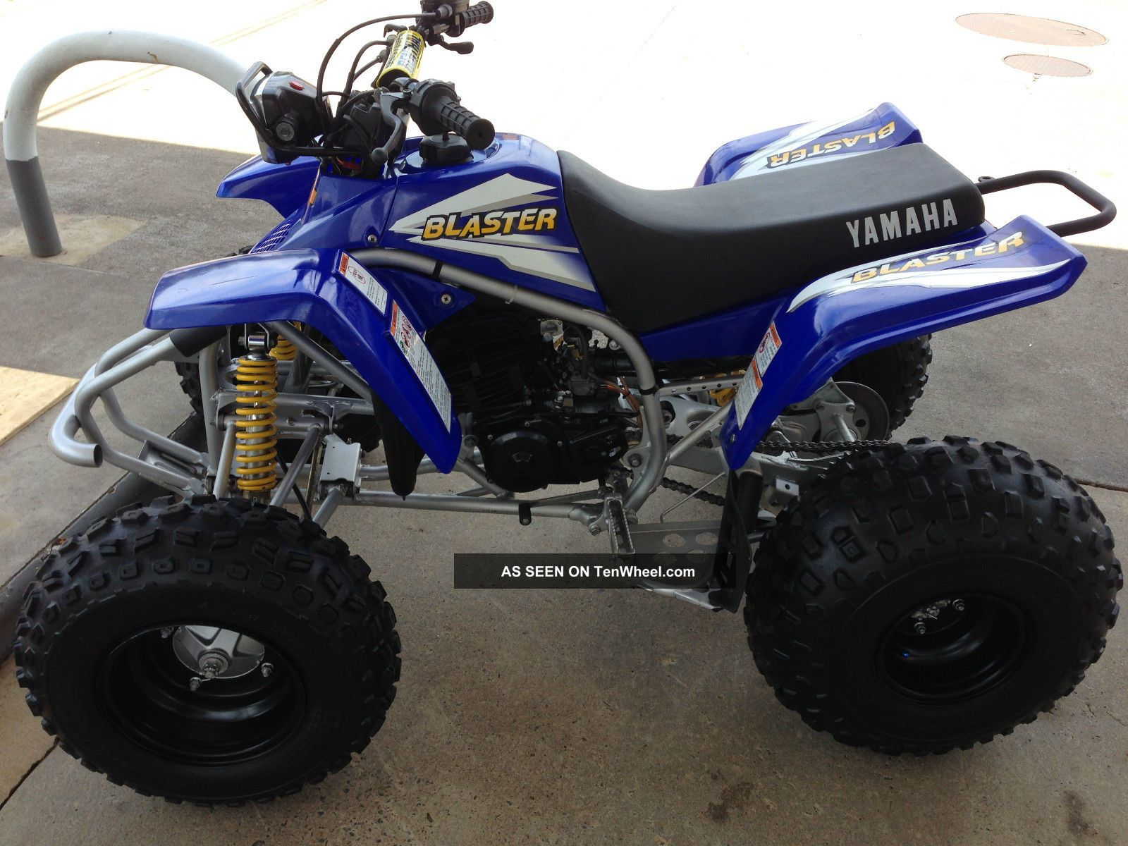 Yamaha Blaster Horsepower