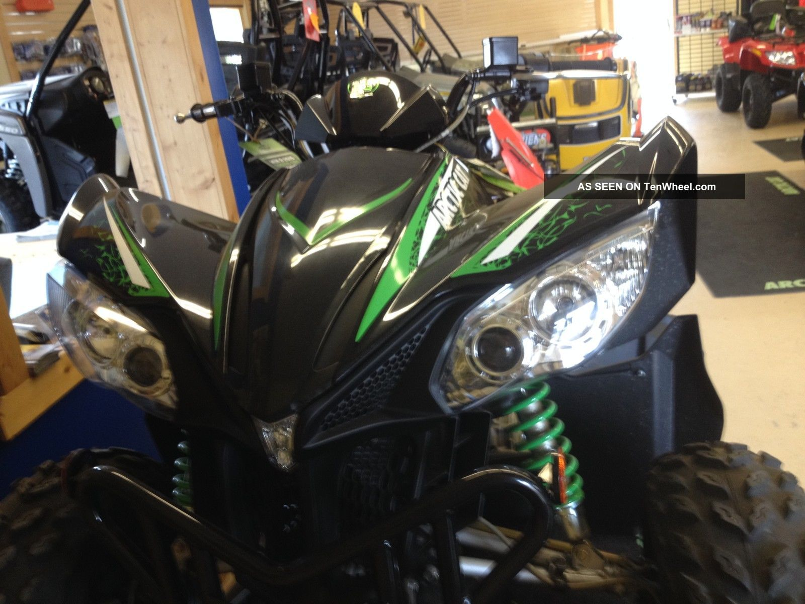 2013 Arctic Cat 450 Xc Arctic Cat photo