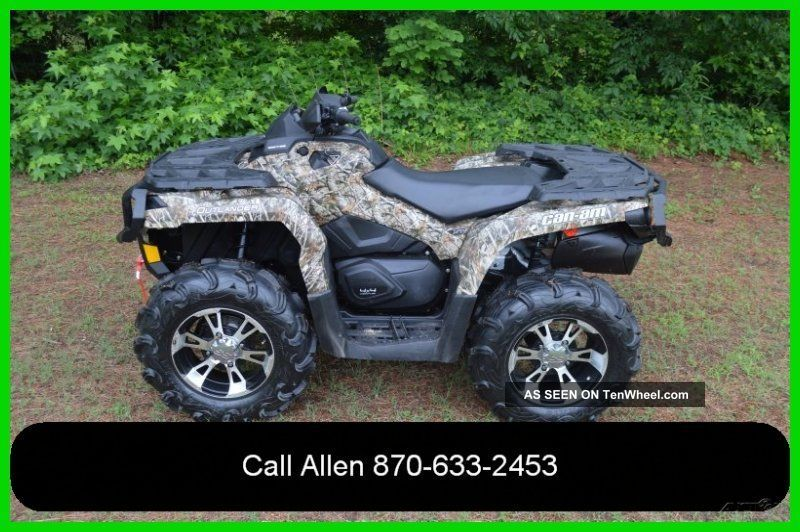 2013 Can - Am™ Outlander™ Bombardier photo