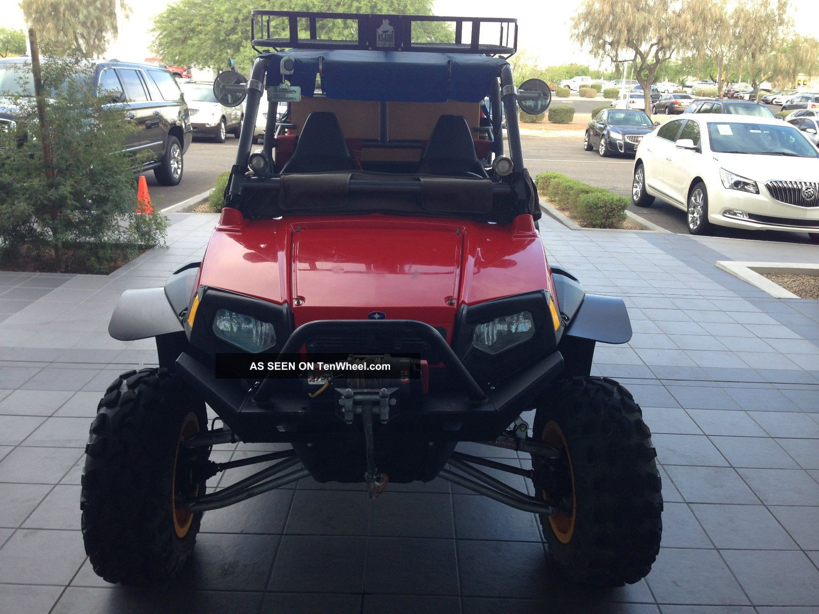 2008 Polaris Rzr UTVs photo