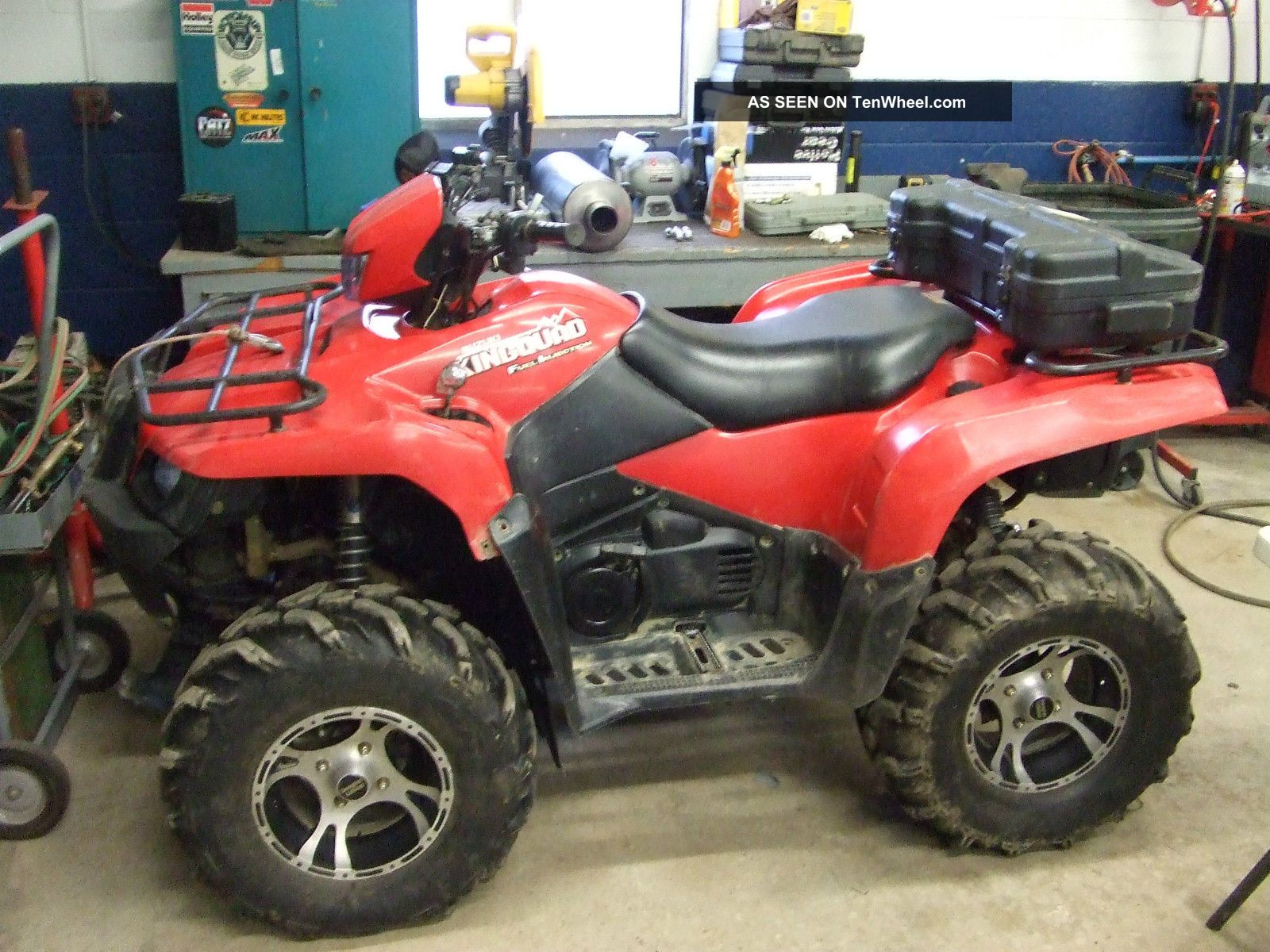 2005 Suzuki King Quad Suzuki photo