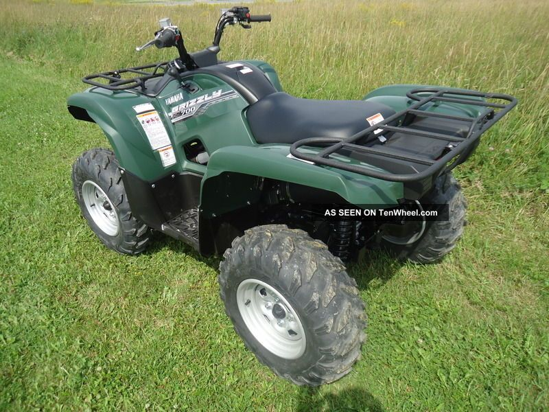 Yamaha four seater 2013 autos post for 2014 yamaha grizzly 700 exhaust